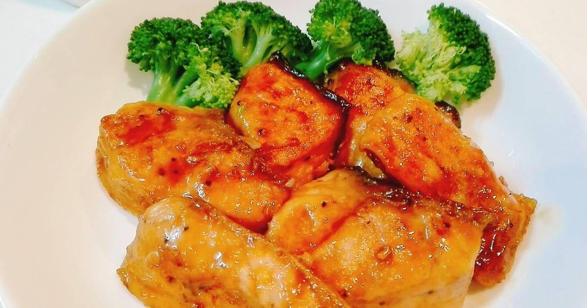 Resep Simple Salmon Teriyaki Favorit Anak Oleh Akari Papa Resep Resep Salmon Resep Wajan