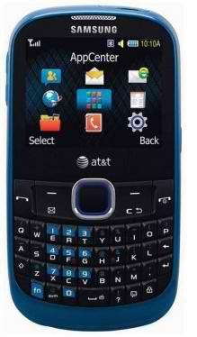 #Samsung's SGH-A187 is one of the best-looking #phone on offer, midrange messaging phone with a QWERTY keyboard. In addition to multimedia text messaging, you'll find an e-mail client, instant messaging, Web access, a music player, and a memory card slot with 16GB external storage.