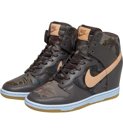 Compensées E Nike High Baskets Dunk Basket Kaki Liberty Sky zHdw8v5q
