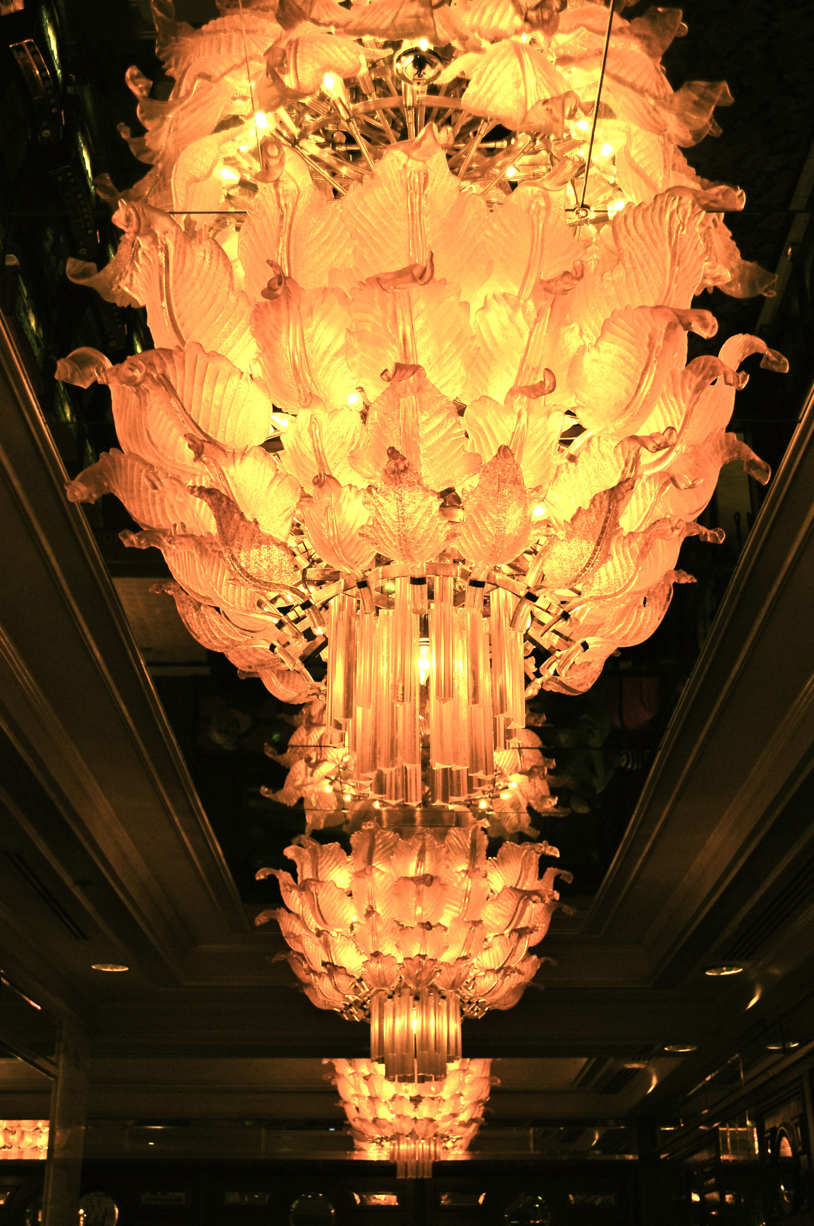 Golden Nug Las Vegas chandelier