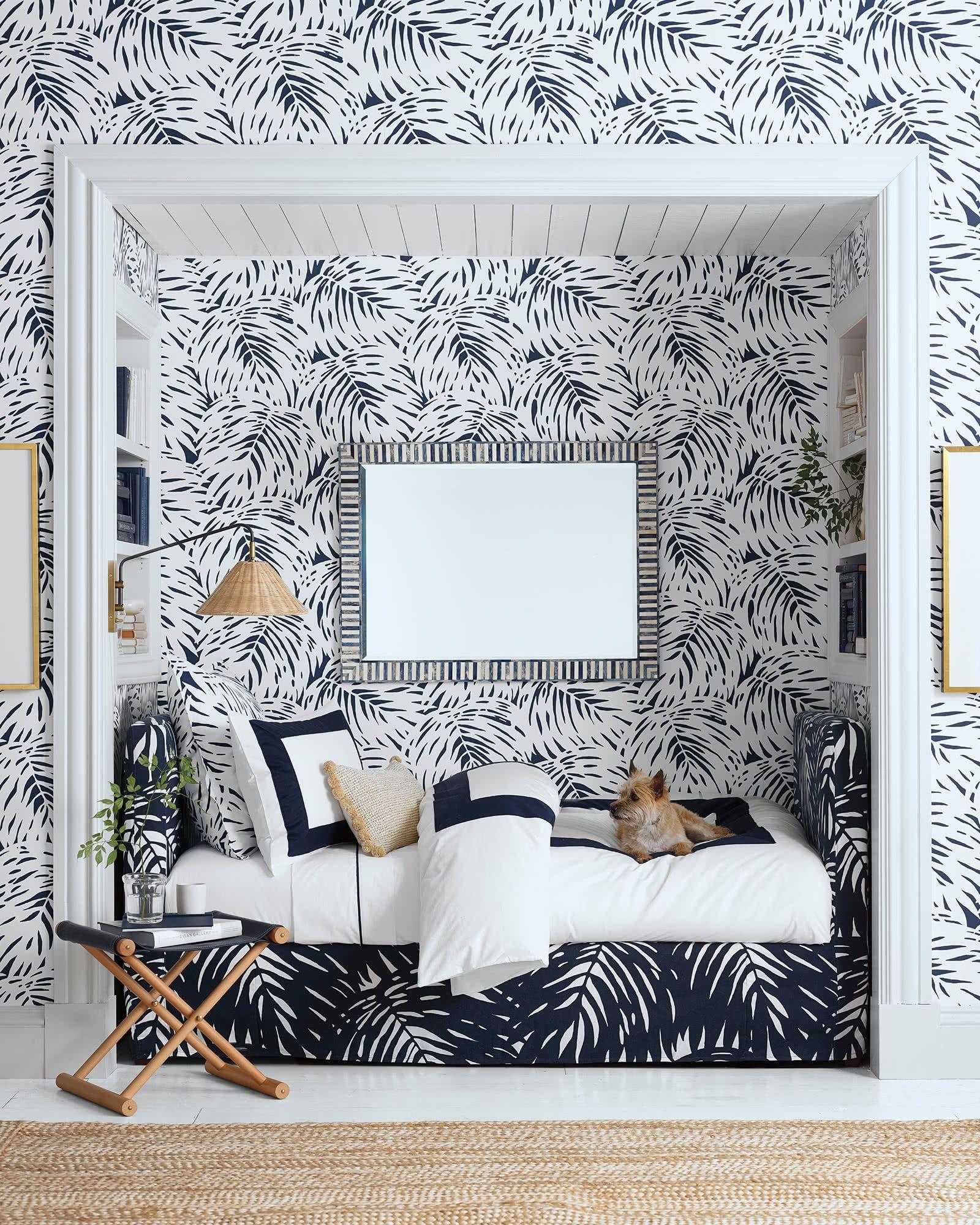 Palm Wallpaper Palm wallpaper, Girls bedroom furniture