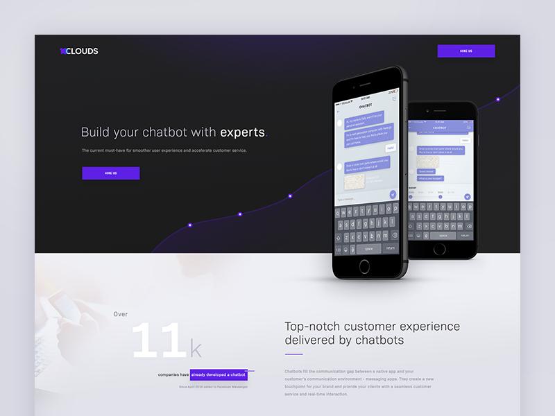 Chatbot Landing Page Chatbot Landing Page Landing Page Design