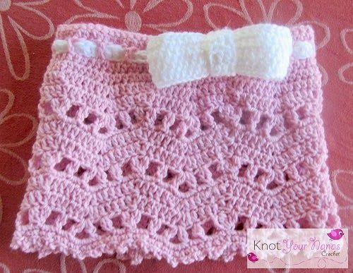 Knot Your Nana\'s Crochet: Little Bow Skirt | Crochet | Pinterest ...