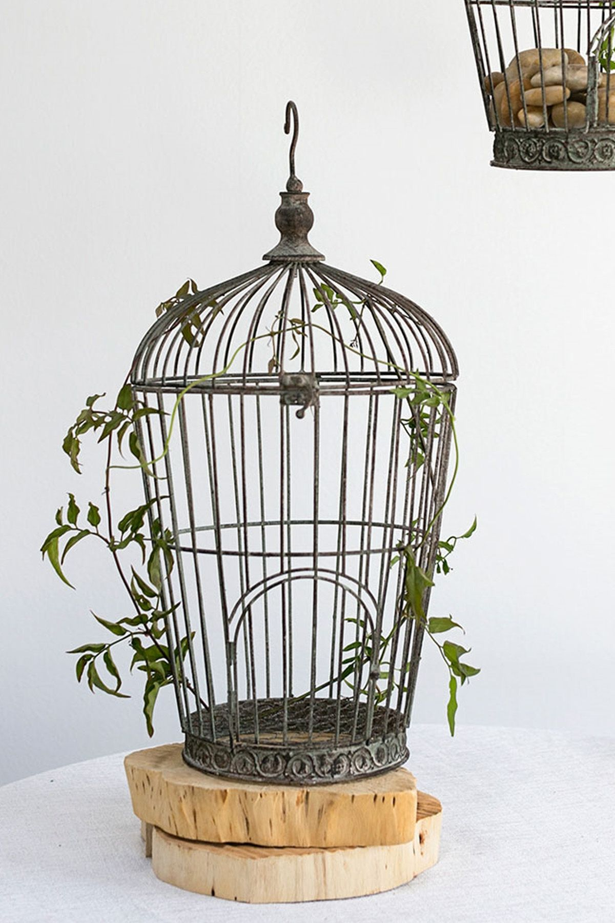 Distressed Wire Birdcage Pompeii 21in Pompeii Bird Cages And