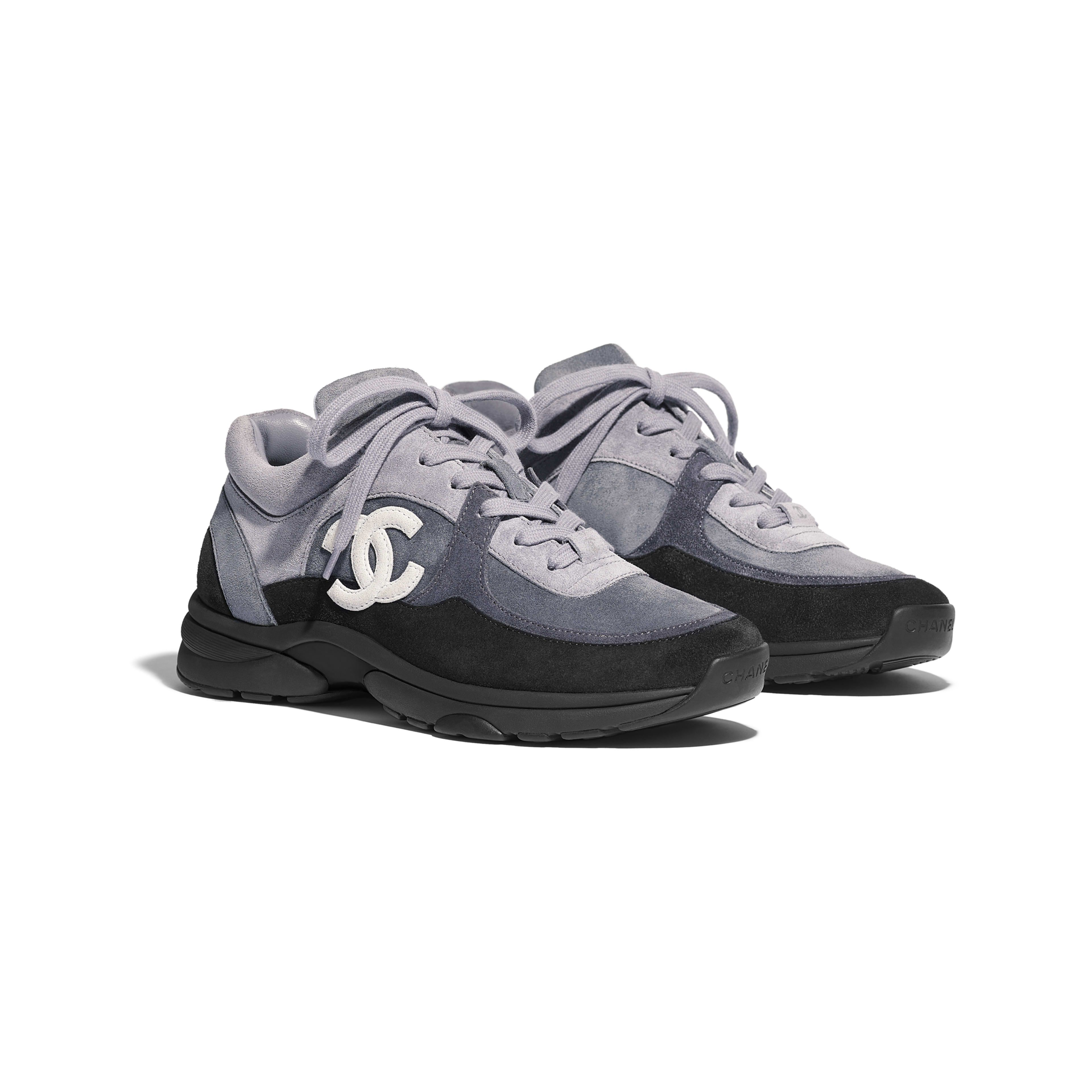 f6d4945c3c99 Suede Calfskin Black Sneakers in 2019