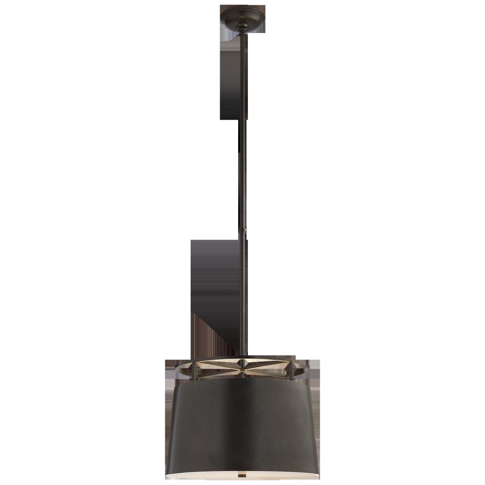 Visual Comfort CHC 5095AI - Bryden Medium Round Pendant in Aged Iron