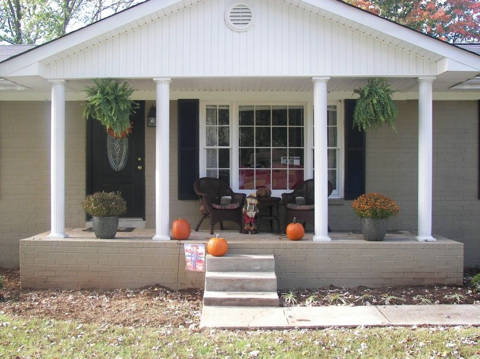 This Is It Small Front Porches House With Porch Porch Remodel
