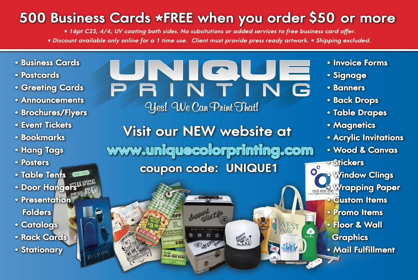 Check It Out Free Business Cards Cards Signage