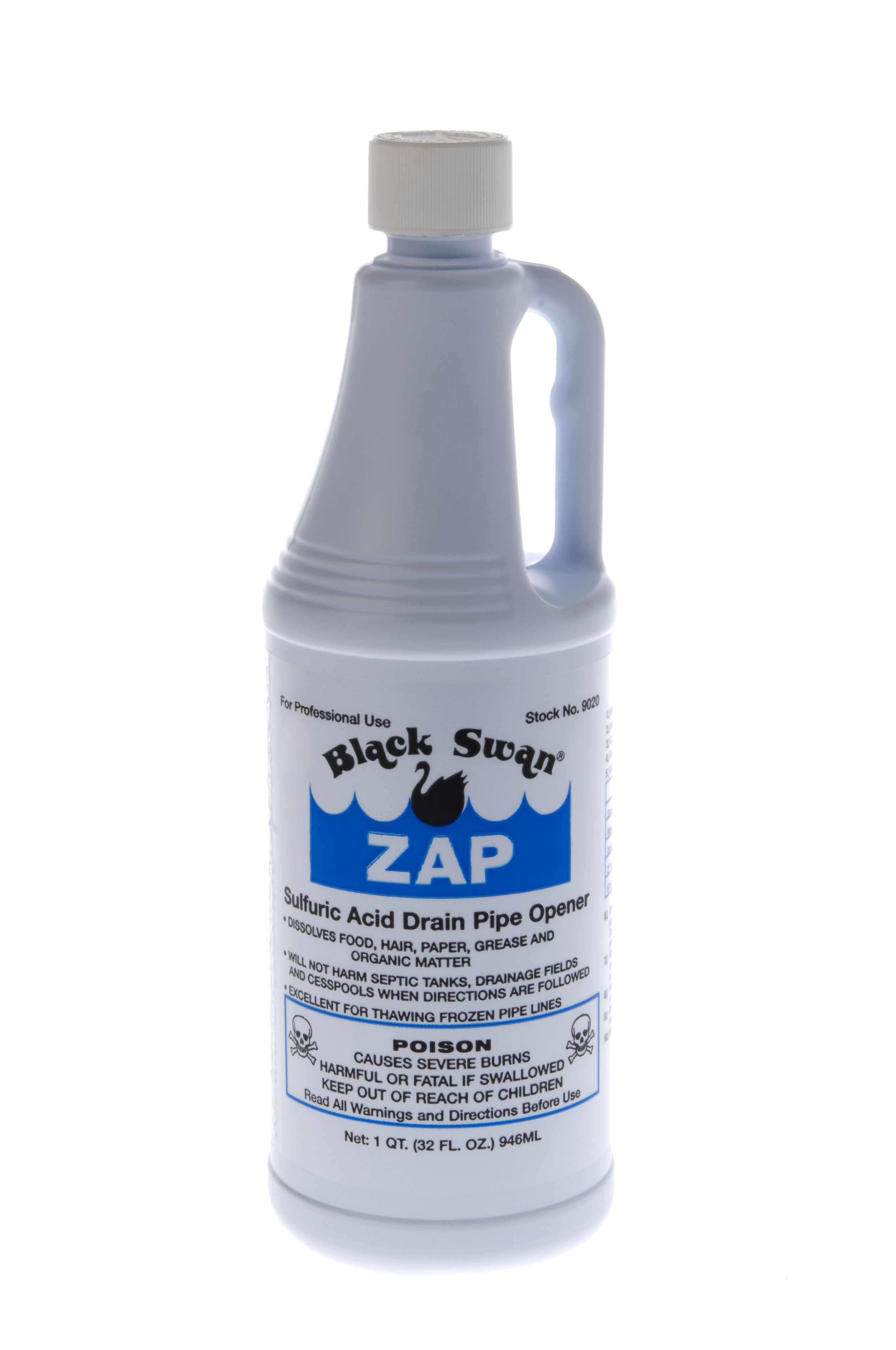 ZAP quickly clears clogged drains and waste lines: thaws frozen ...