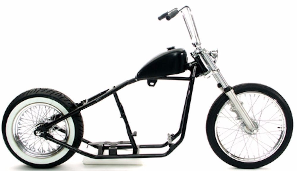 Rigid Hardtail Springer Bobber Chopper Rolling Chassis Frame Harley ...