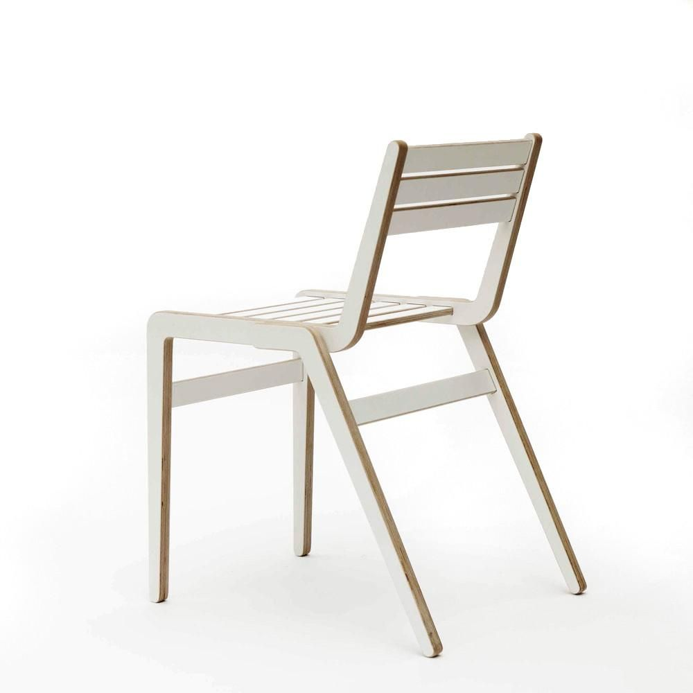 Room And Board Plywood Side Accent Chair: Stackable Chairs, Chair, Furniture Design