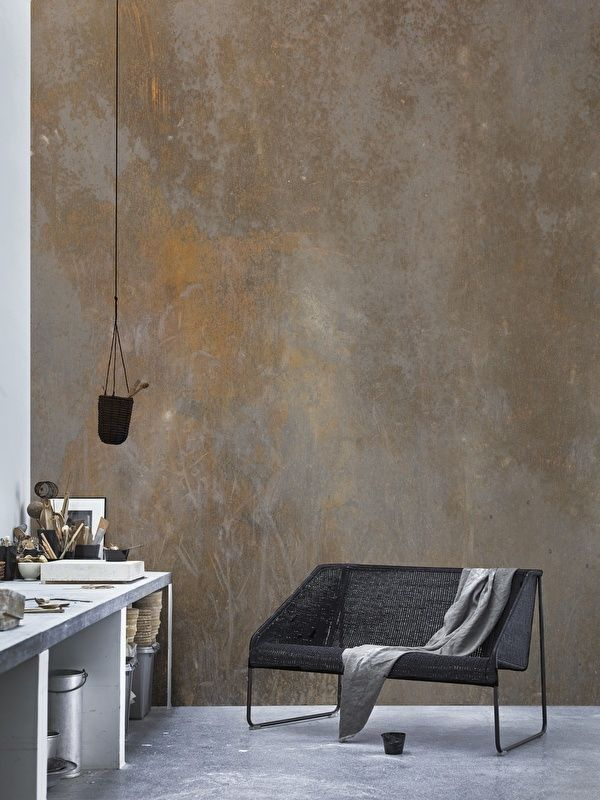 Wallpaper RUST | Paint | Pinterest | Rust, Wallpaper and Interiors