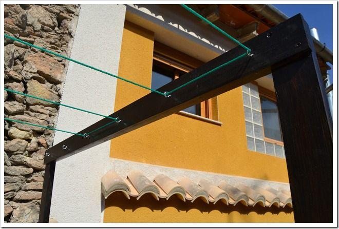 Tendedero De Ropa Clothesline Clothes Line Exterior Design Ideal Home