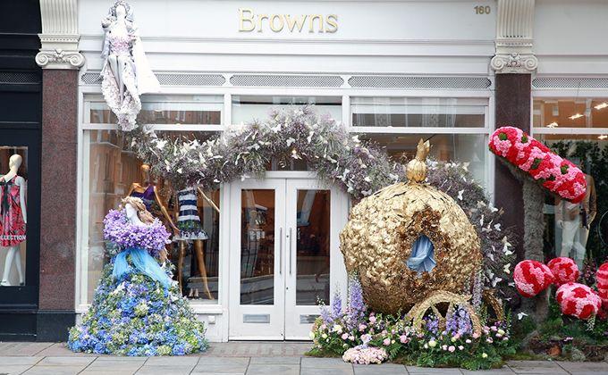 Chelsea in Bloom, exteriores de comercios de Londres se convierten en…