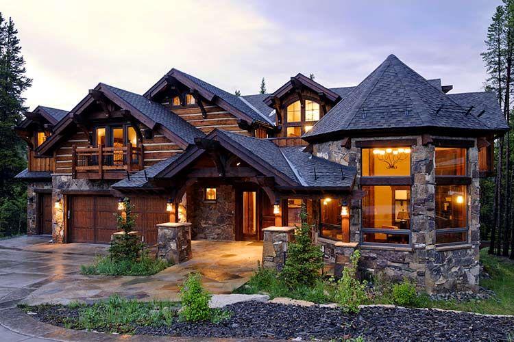 Colorado ski chalets luxury ski vacation rentals