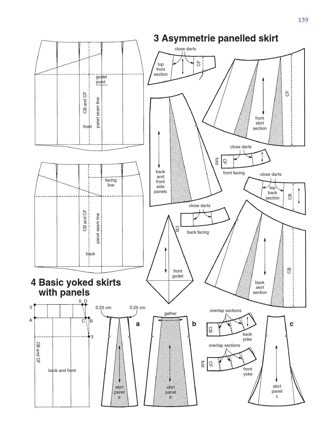 Metric pattern cutting for womens wear pattern cutting patterns metric pattern cutting for womens wear by shgodesign issuu fandeluxe Image collections