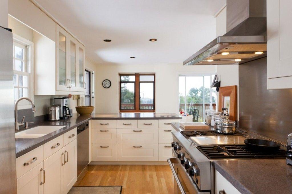 Galley Kitchen With Island Galley Kitchen Designs