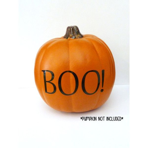 Pumpkin Decal, Pumpkin Decor, Halloween Pumpkin Decorations, Boo - halloween pumpkin decorations