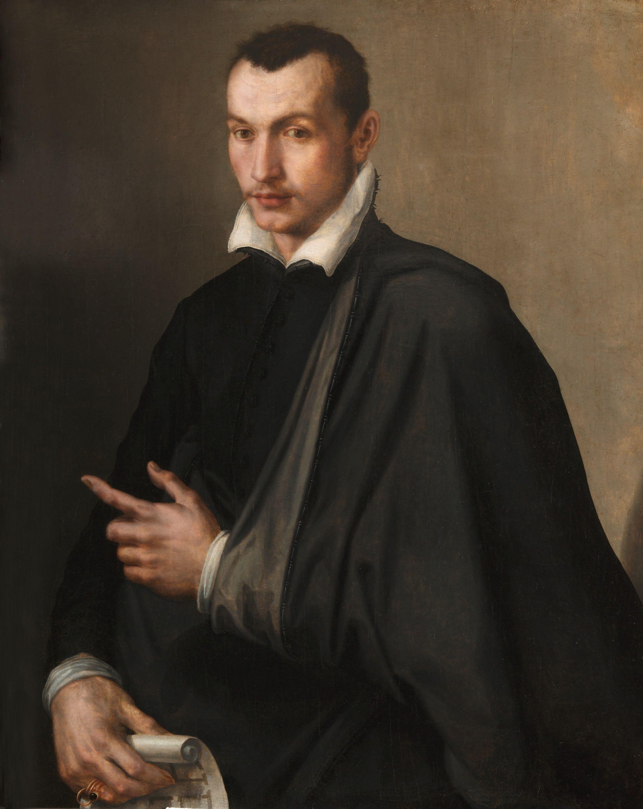 Maso da San Friano (1531-1571) - Ritratto di Ottavio Farnese, II duca di Parma e  Piacenza - The Cobbe Collection Trust