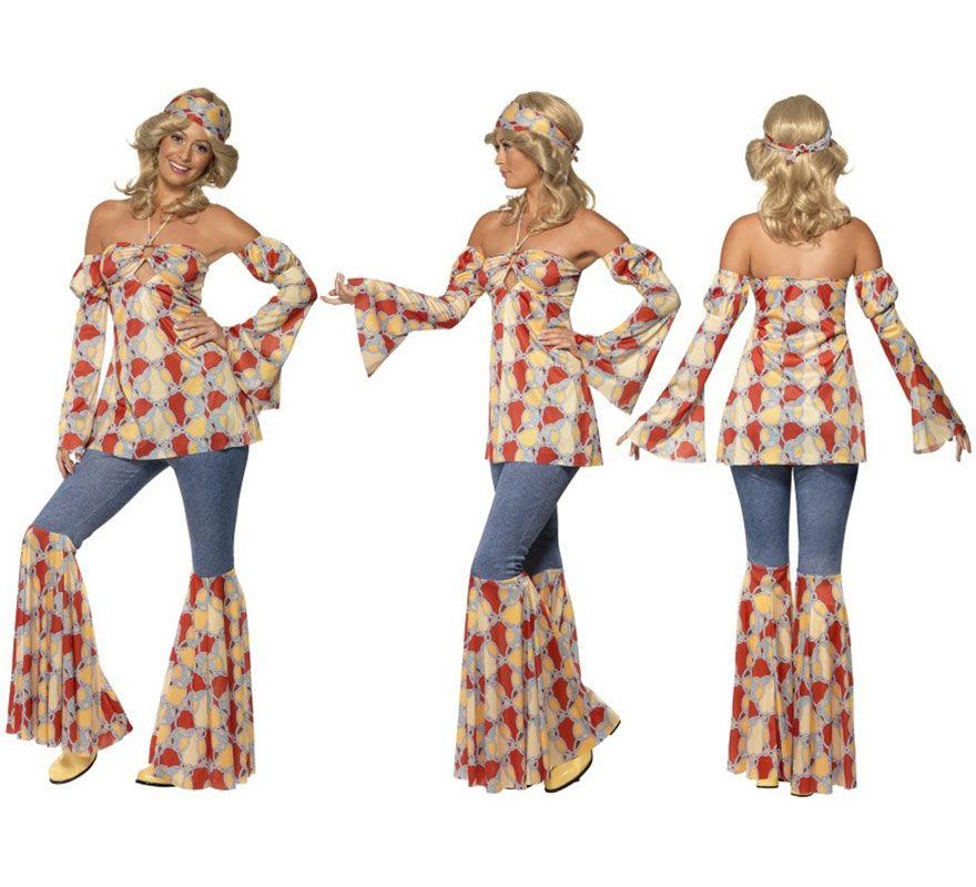 zapatos de separación la mejor calidad para zapatos de otoño Disfraz Vintage Hippy de los 70s para Mujer | Años 70's ...