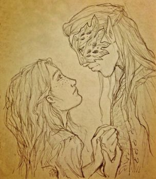 Feyre And Tamlin By Zendalla8 Book Art Drawings A Court Of