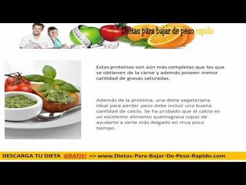carne dieta vegetariana pérdida de peso