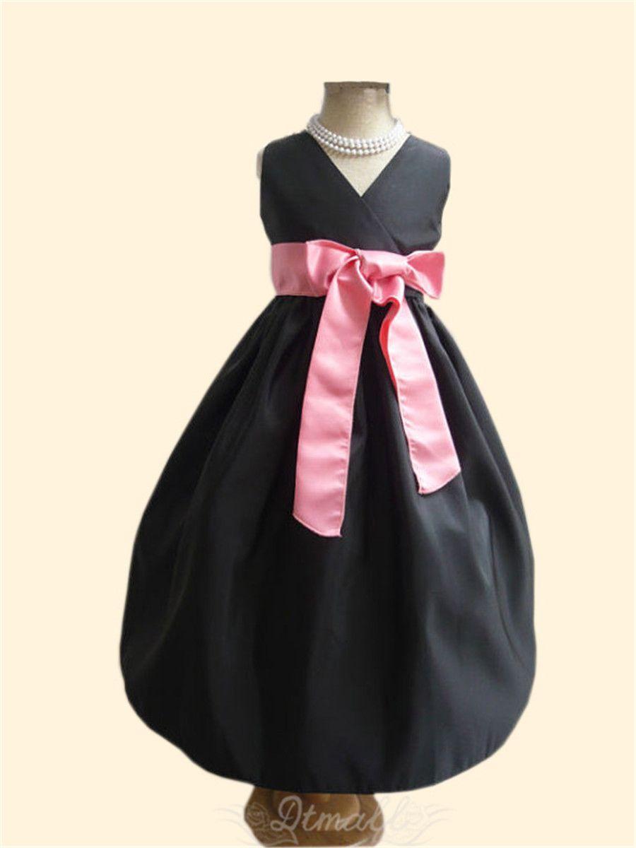 2015 Fashion Children's Dress Wedding Bridesmaid Party Birthday Dress Flower Girl Gown S131 on Luulla