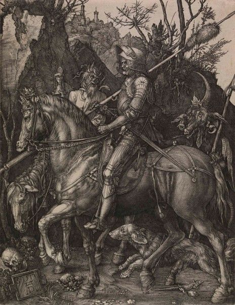 Durer - Knight, Death and the Devil