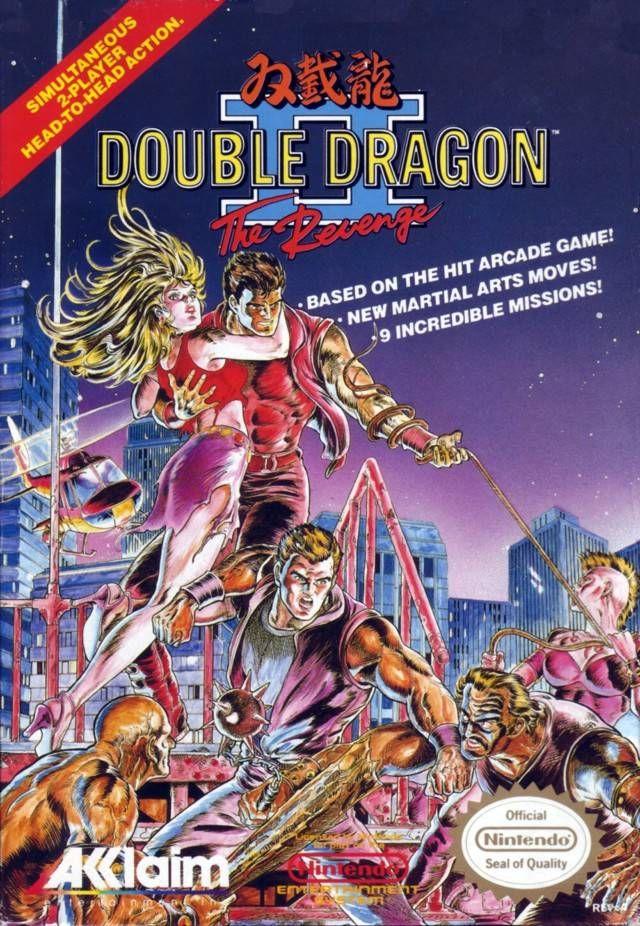 Double Dragon Ii Nes Jogos Retro Arcade Retro