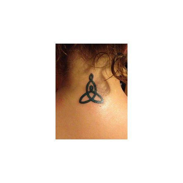 Irish Celtic Symbol For Mother Daughter Tattoo Liked On Polyvore