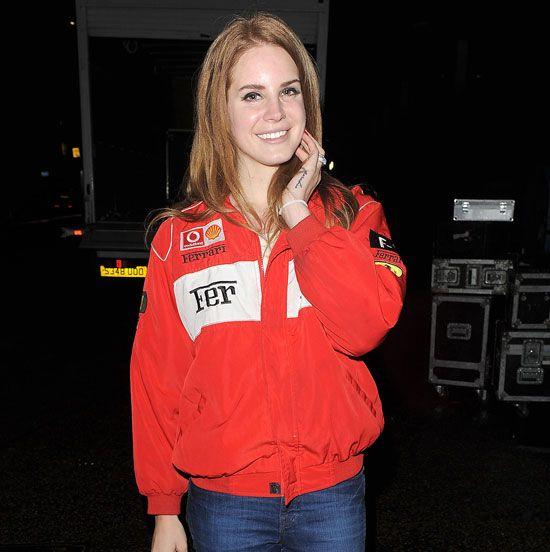 Lana Del Rey racing | Ferrari F1 Racing Jacket