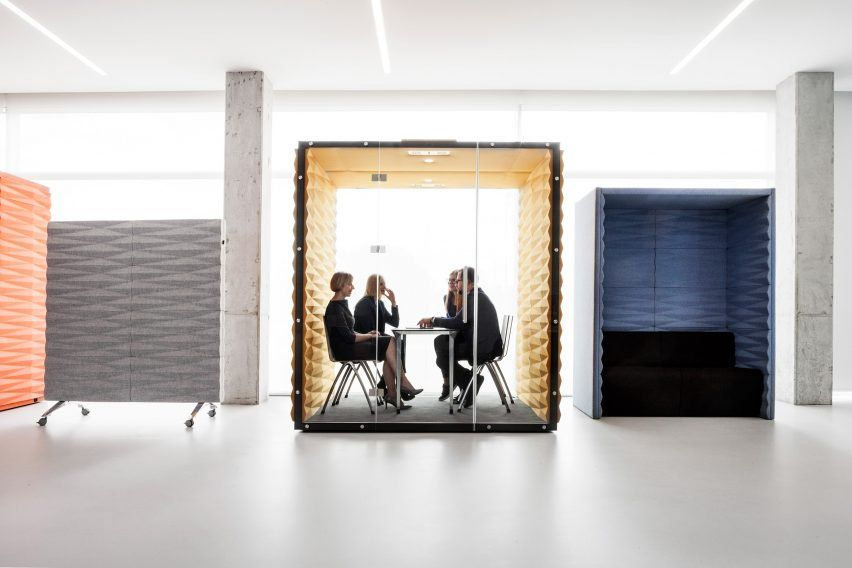 With open plan offices ever popular furniture brand vank is