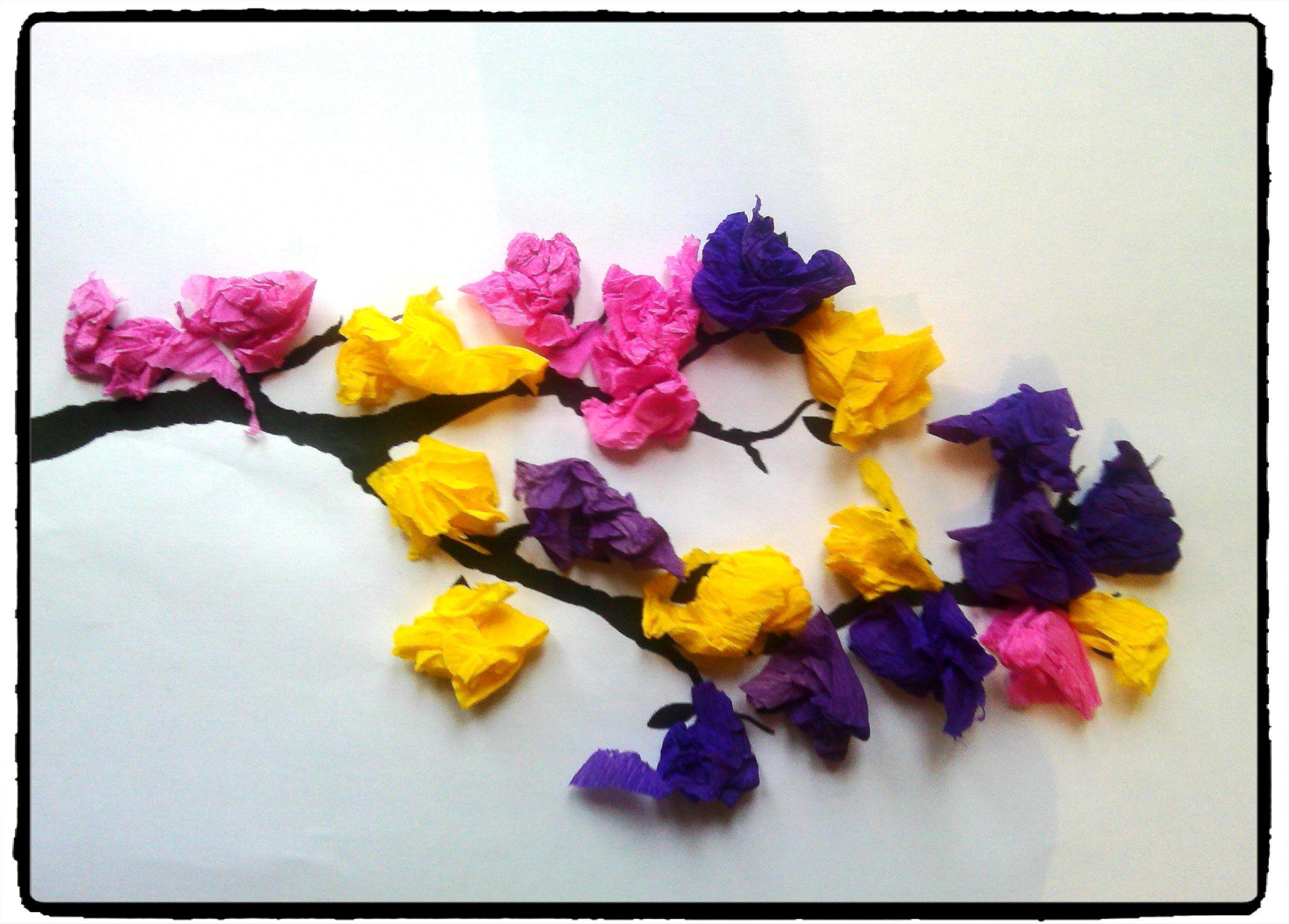 Häufig branche d'arbre printanière, bricolage printemps, fleurs  PD66