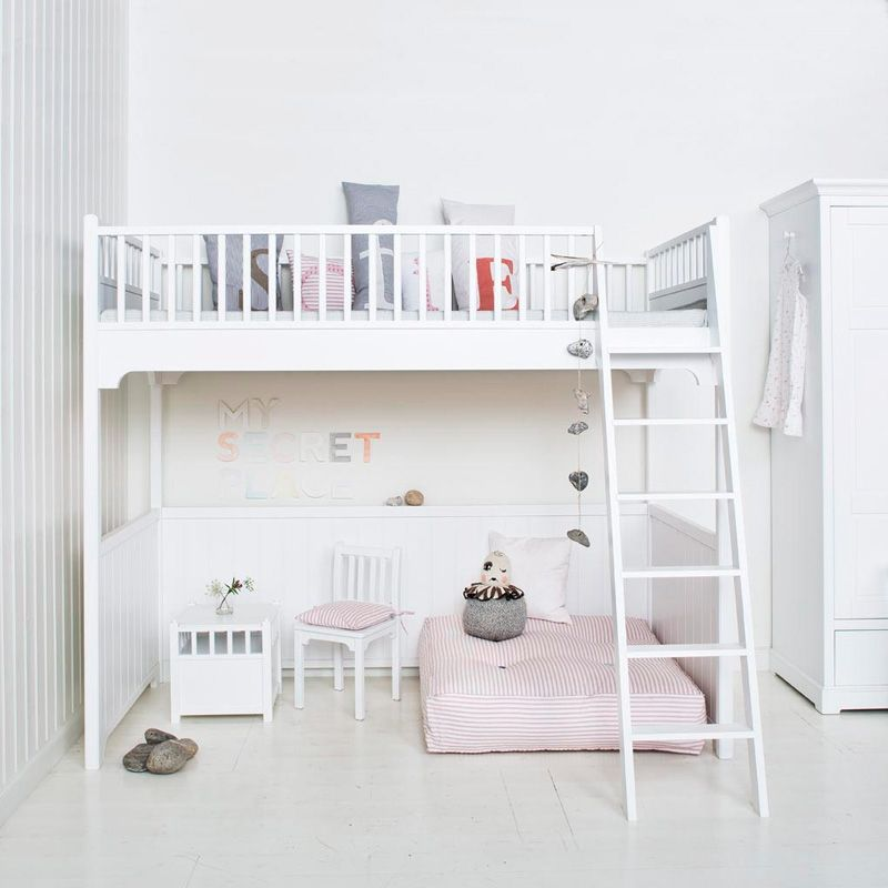 Childrens Luxury Loft Bed In White. We Absolutely Adore This Best Selling  Childrenu0027s Loft Bed By Oliver Furniture, Part Of Their Seaside Collection.
