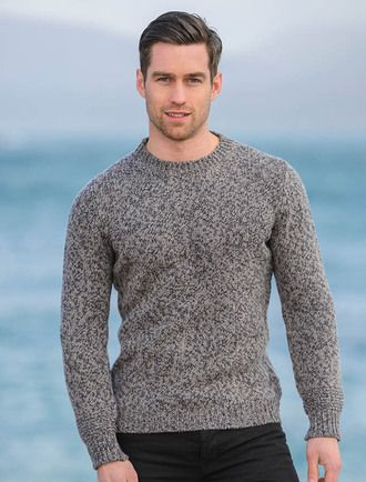 Mens Wool Sweaters Irish Fisherman Sweater Irish Sweaters Wool