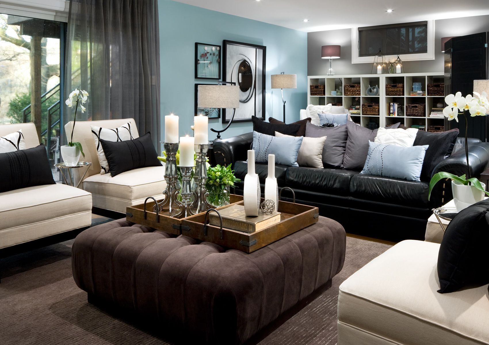 Merveilleux Take Advantage Of Natural Light When You Can In Basement Living Rooms