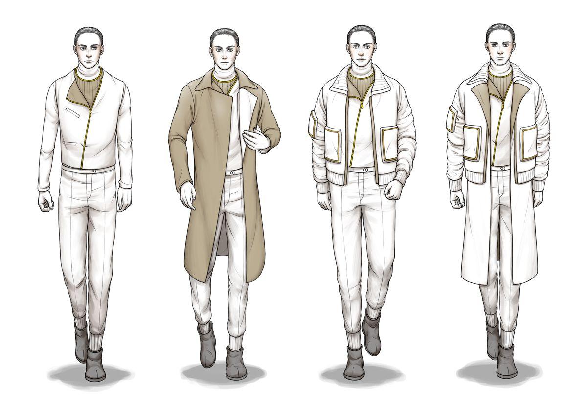 Male Fashion Sketchbook