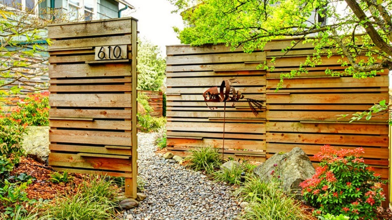 80 Fence Design Ideas for House 2017 - Garden and relaxing space ...