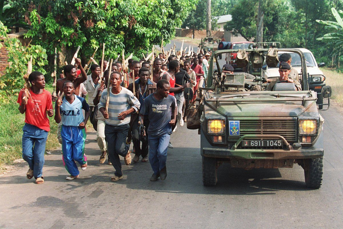 The role France played during, and after, the slaughter of almost 1 million Rwandans.