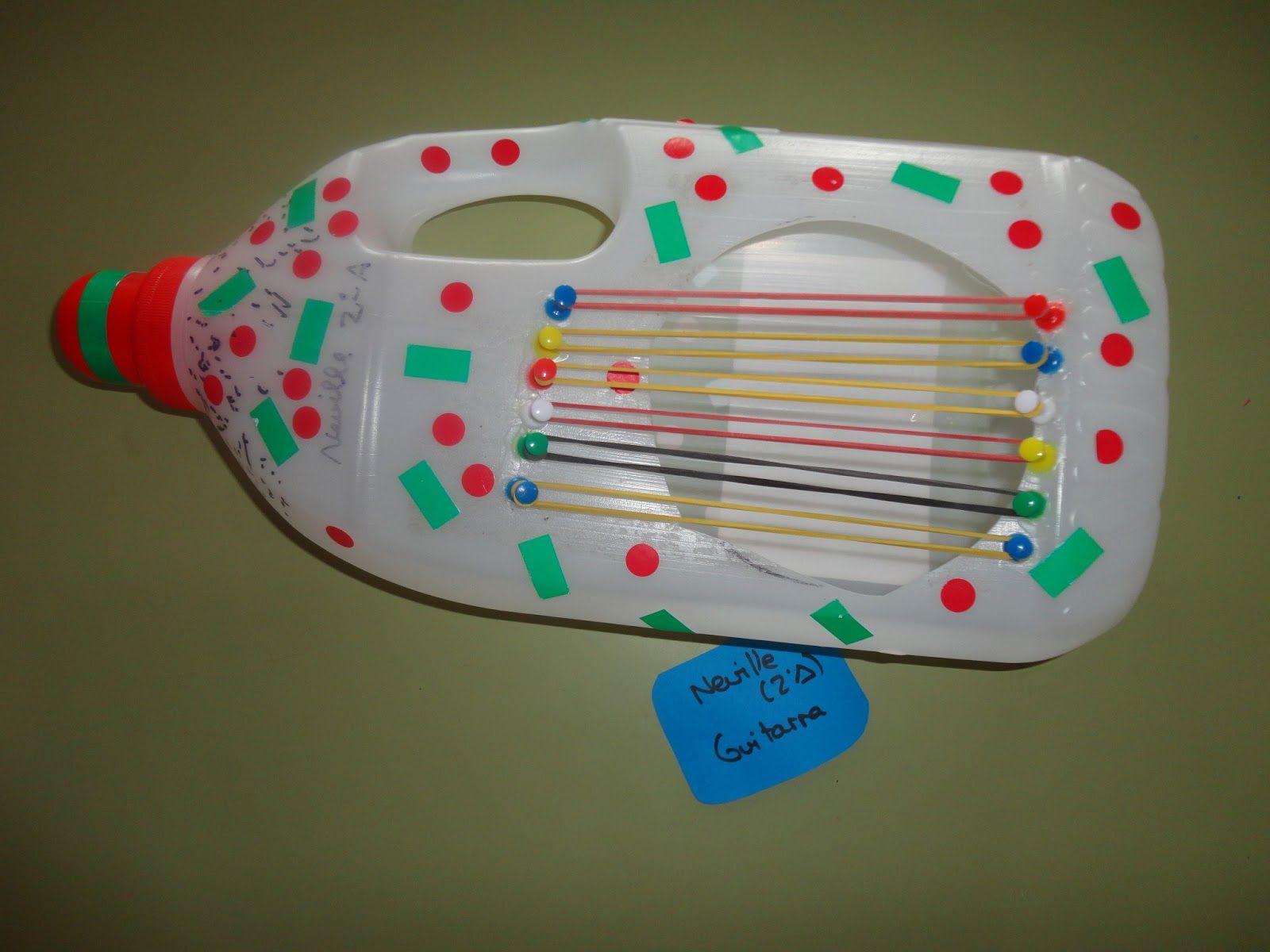 xilofono de material reciclado - Buscar con Google | Instruments faits  maison, Instruments de musique maison, Bricolage instrument de musique