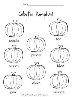 FREE!! Color words worksheet! | November | Pinterest | Free ...