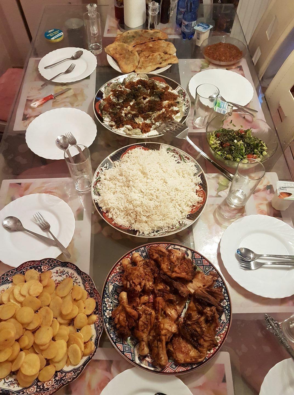 Afghan Food Iftar Food Food And Drink Moroccan Food