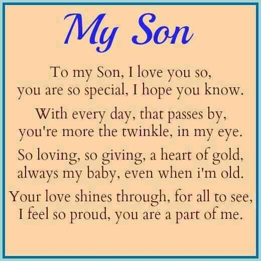 75+ Love Quotes For My Son