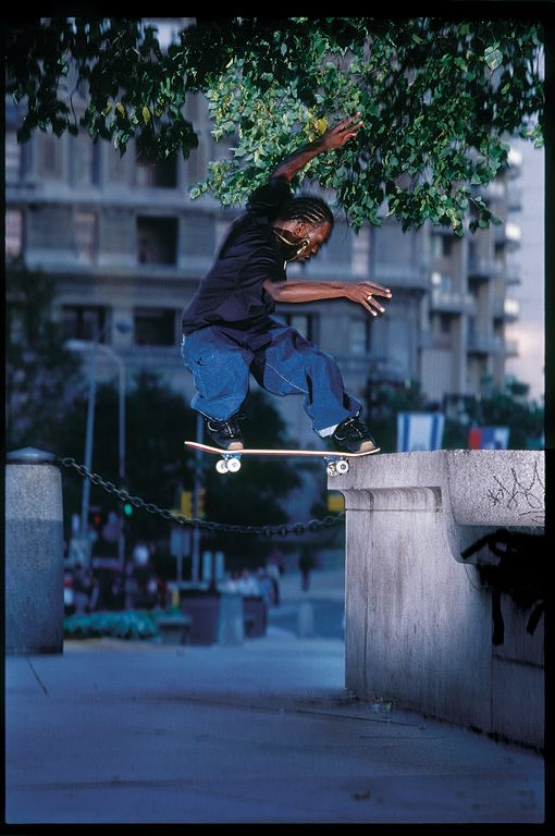 Stevie Williams Sw Fs Noseslide Love Park Blabac