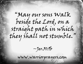 Prayer for sons | Quotes/Books | Biblical quotes, Bible ...