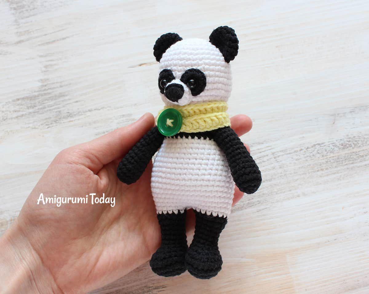 Cuddle Me Panda amigurumi pattern | Patrones amigurumi, Patrón ...