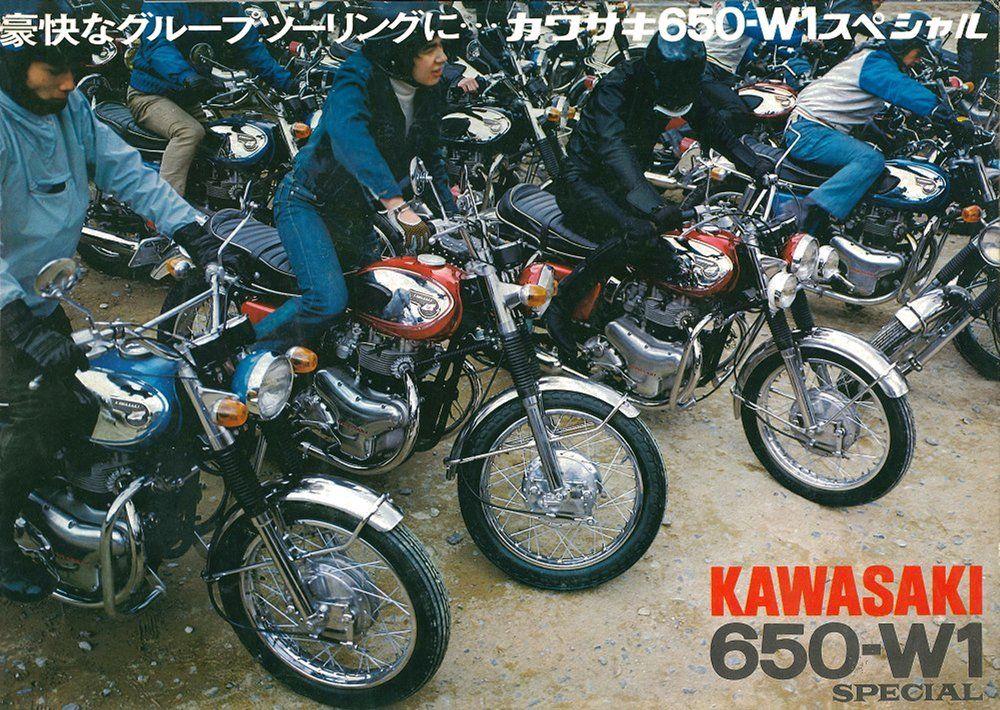 Kawasaki 650-W1S