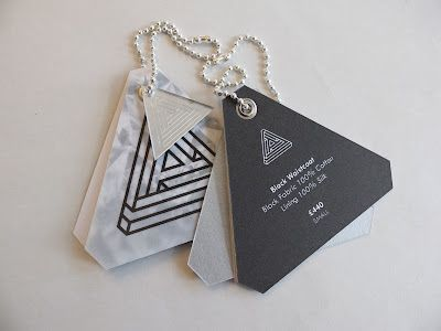 triangle swing tag i like the multiple tags swing tag designname - Name Tag Design Ideas