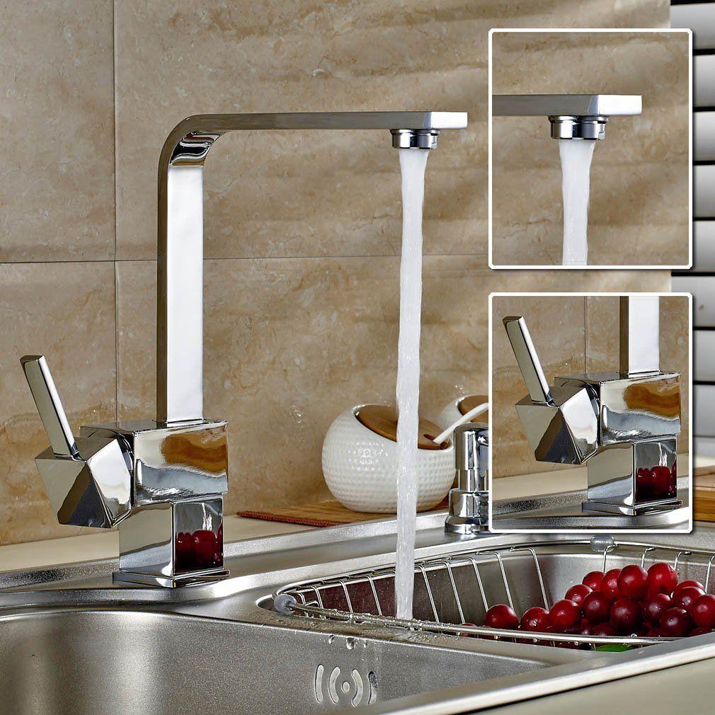 Mitigeur design cuisine mitigeur baignoire cusine douche lavabo pinterest - Robinet douche cuisine ...