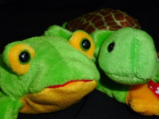 3a5622b4aeb TY Original Beanie Baby Original Smoochy Frog 1997 Speedy Turtle 1993 tag  error  Ty